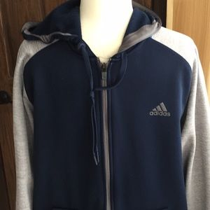 NWOT men's Adidas zip up jacket